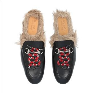f89a0e52838 Gucci Shoes - Gucci men s Princetown slipper with king snake